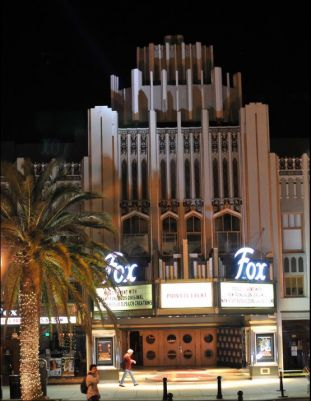 Facade of the Fox Theatre