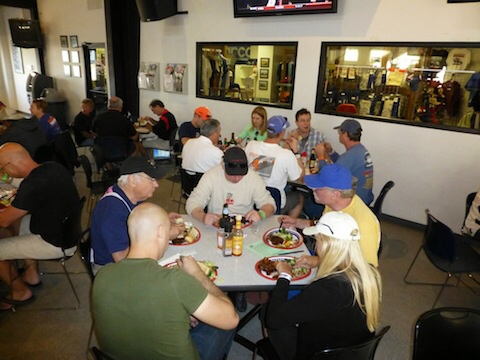 Dinner at Buttonwillow Raceway