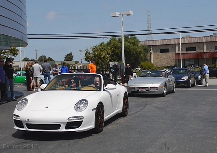 2013 tour ending at Carlsen Porsche